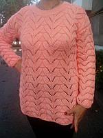 Женский вязаный свитер, ручная работа, в наличии