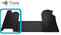 Iveco daily iv 2006- водительский коврик черный в салон.