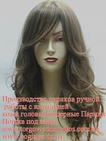 Трессованый парик из натуральных волос от 150$