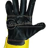 Перчатки кожаные комбинированные «Oriole», фото 2