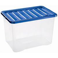 Ящик пластиковый для хранения Heidrun 28 л, 43х33х26 см (1683)