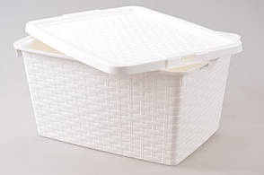 Ящик пластиковый для хранения Heidrun 10 л, 33х23х16 см (4510)