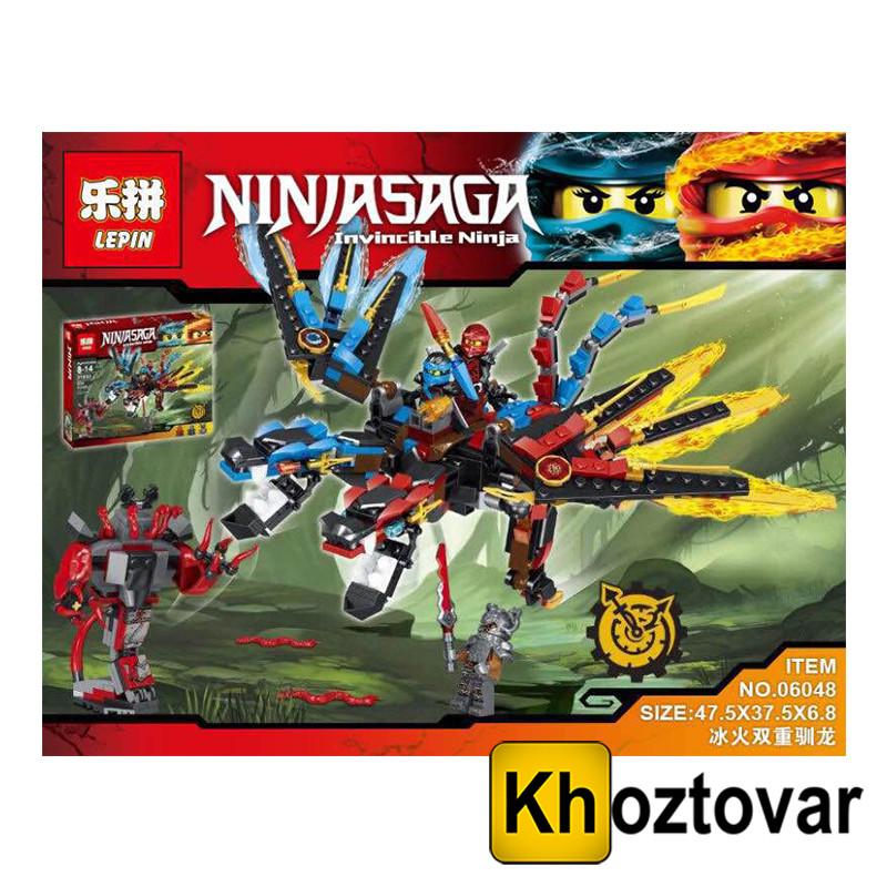 Детский конструктор Lepin Ninjasaga 06048 | 528 деталей
