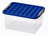 Ящик пластиковый для хранения Heidrun 38 л, 52х36,5х26 см (1605)