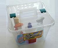 Ящик пластиковый с двумя отделениями Heidrun 30 л, 38х35х36 см (1637)
