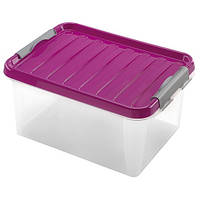 Ящик пластиковый для хранения Heidrun 14 л, 39х28,5х18 см (604)