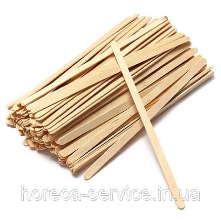 Мешалка для кофе бамбук 800 шт., фото 2