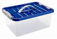 Ящик пластиковый с ручкой и крышкой Heidrun 4.5 л, 29х19х14 см (1631)