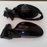 Черные, глянцевые боковые зеркала на Ваз 2104, Ваз 2105, Ваз 2107