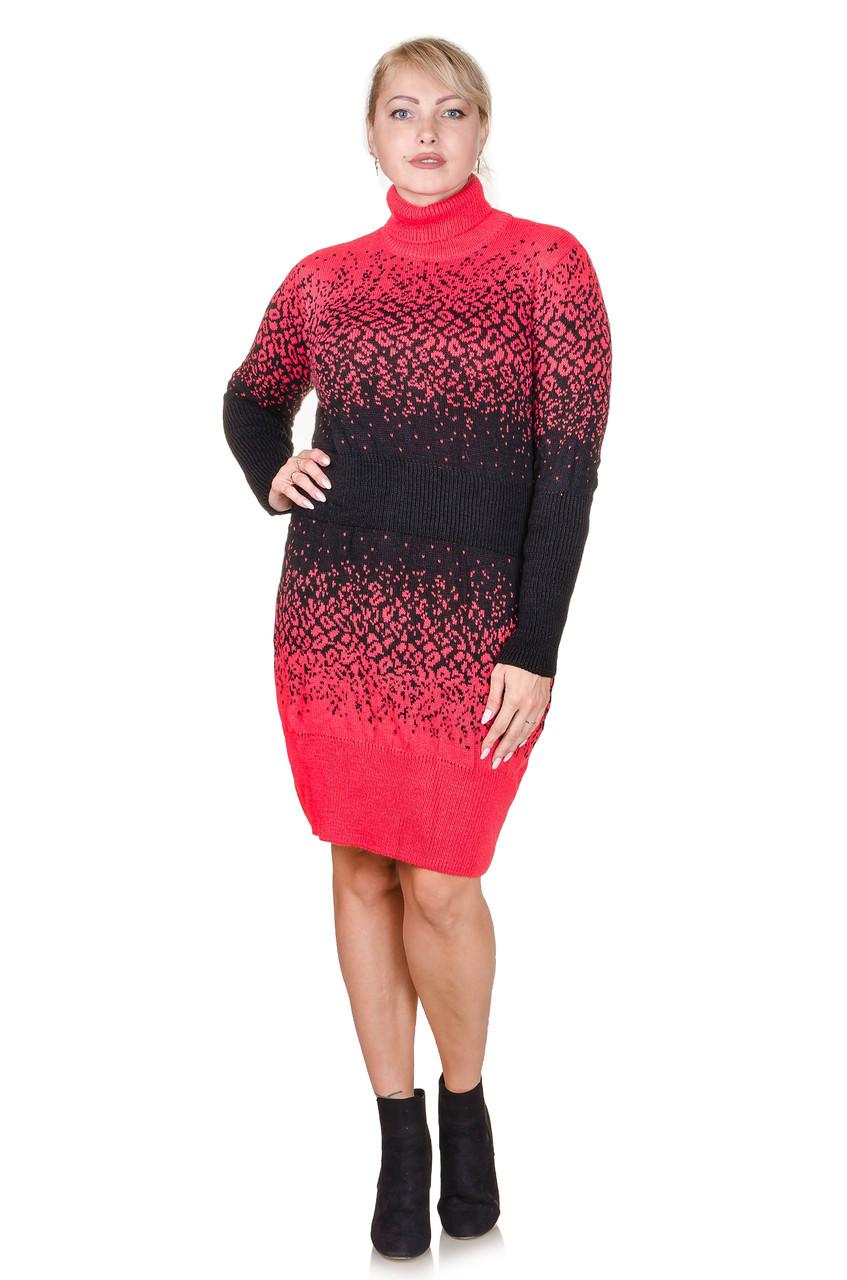 Вязаное платье Jungli коралл (46-48)