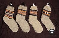 Шерстяные носки, носки ручной вязки , фото 1