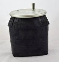 Пневморессора 6318 SCHMITZ без стакана, 2 отверстия(по центру)+штуцер(смещен) М22/12мм