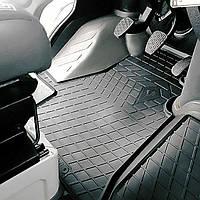 Volkswagen lt 2 (1+1) 1995-2006 комплект из 4-х ковриков черный в салон.