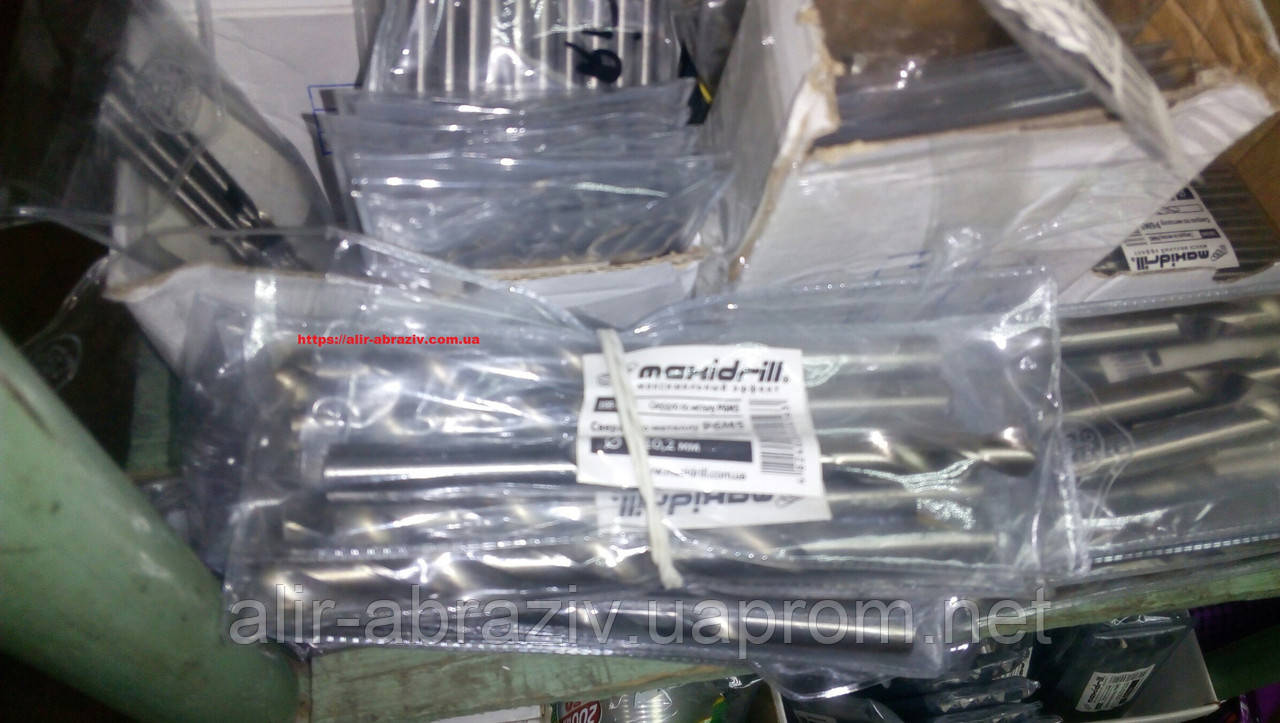 Сверло по металлу P6M5 25,0 мм с хвостовиком 10 мм