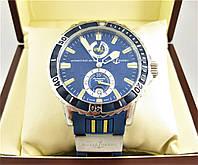 Часы Ulysse Nardin DIVER CHRONOMETER (Механика) Silver/Blue. Класс: AAA
