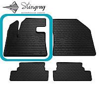 Peugeot 3008 2016- Водительский коврик Черный в салон