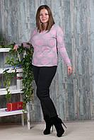 Женские лосины внутри мех Натали А996 6XL-R. Размер 56-60.