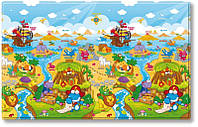 Игровой коврик Dwinguler приключения дино