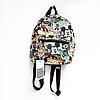 Рюкзак цветной мини с принтом mickey mouse