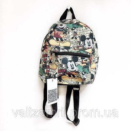 Рюкзак цветной мини с принтом mickey mouse, фото 2