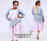 Женский костюм Цветок в расцветках БАТ 357 (232)