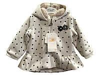 Куртка-пальто демисезонное для девочки Mayoral 70 см 4-6мес