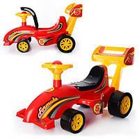 Автомобиль для прогулок каталка-толокар Формула 3084