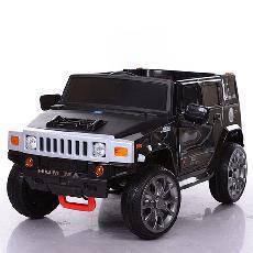 Детский электромобиль Hummer M 3581 EBR Черный, колеса EVA, амортизаторы, пульт Bluetooth, фото 2