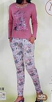 """Женская пижама """"Nicoletta"""" из плотного трикотажа №86872"""
