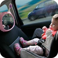 """Benbat Интерактивное зеркало в машину """"Инопланетянин"""" BM702 цвет: розовый"""