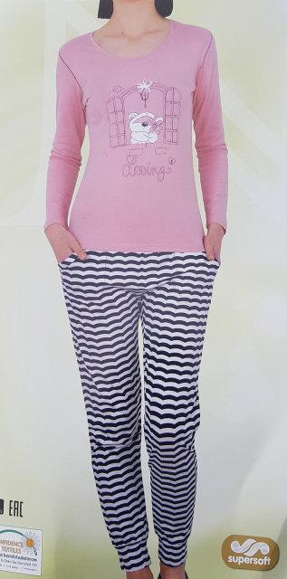 "Женская пижама ""Nicoletta"" №86801 (хлопок)"