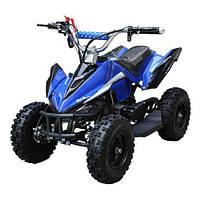 Квадроцикл детский аккумуляторный HB-6 EATV 800 B-4, синий