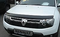 Дефлектор капота мухобойка Fly к Renault Duster 2008+ гг.