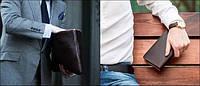 Мужской клатч - практичный аксессуар и стильная вещь.