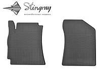 Geely MK Cross 2010- Комплект из 2-х ковриков Черный в салон