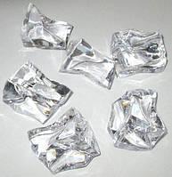 Лед искусственный 3,5 см, прозрачный - 400 гр.