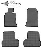 Mini cooper ii 56 2006- комплект из 4-х ковриков черный в салон.