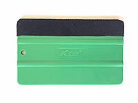 """Шпатель для оклейки """"KTM"""" с мягкой замшевой накладкой"""
