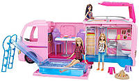 Барби Кемпер мечты Трейлер для путешествий Barbie DreamCamper 2017