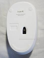 Беспроводная оптическая мышь HAVIT HV-M958GT Wireless USB, белая, фото 3