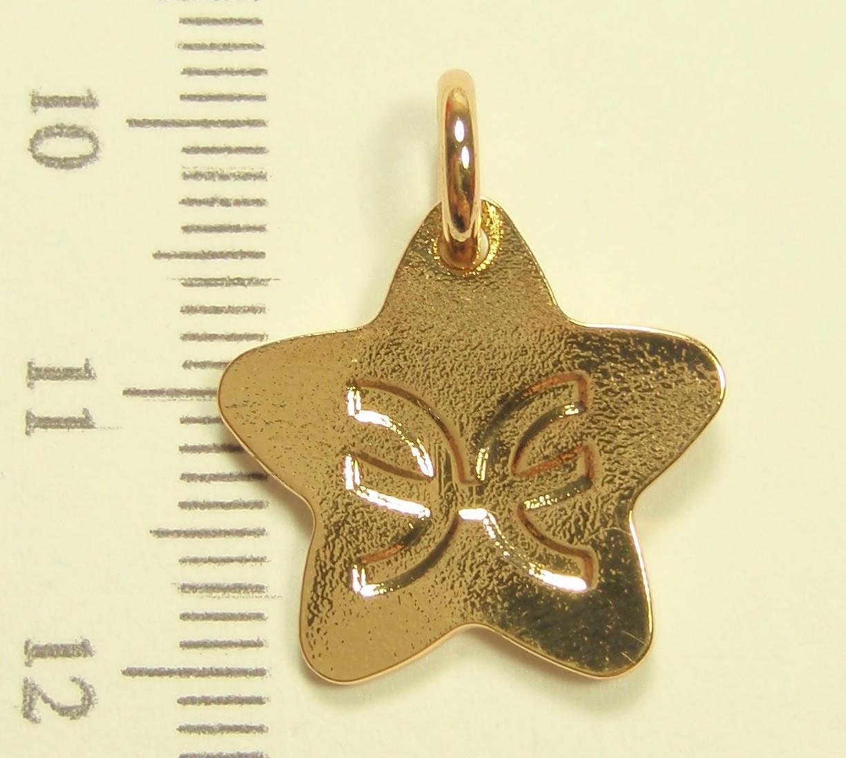 Медальон и звездочка