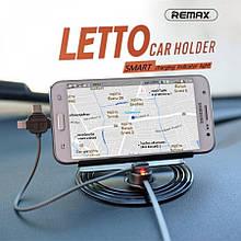 Автомобильный держатель-зарядка на торпеду Remax Letto  Car  Holder