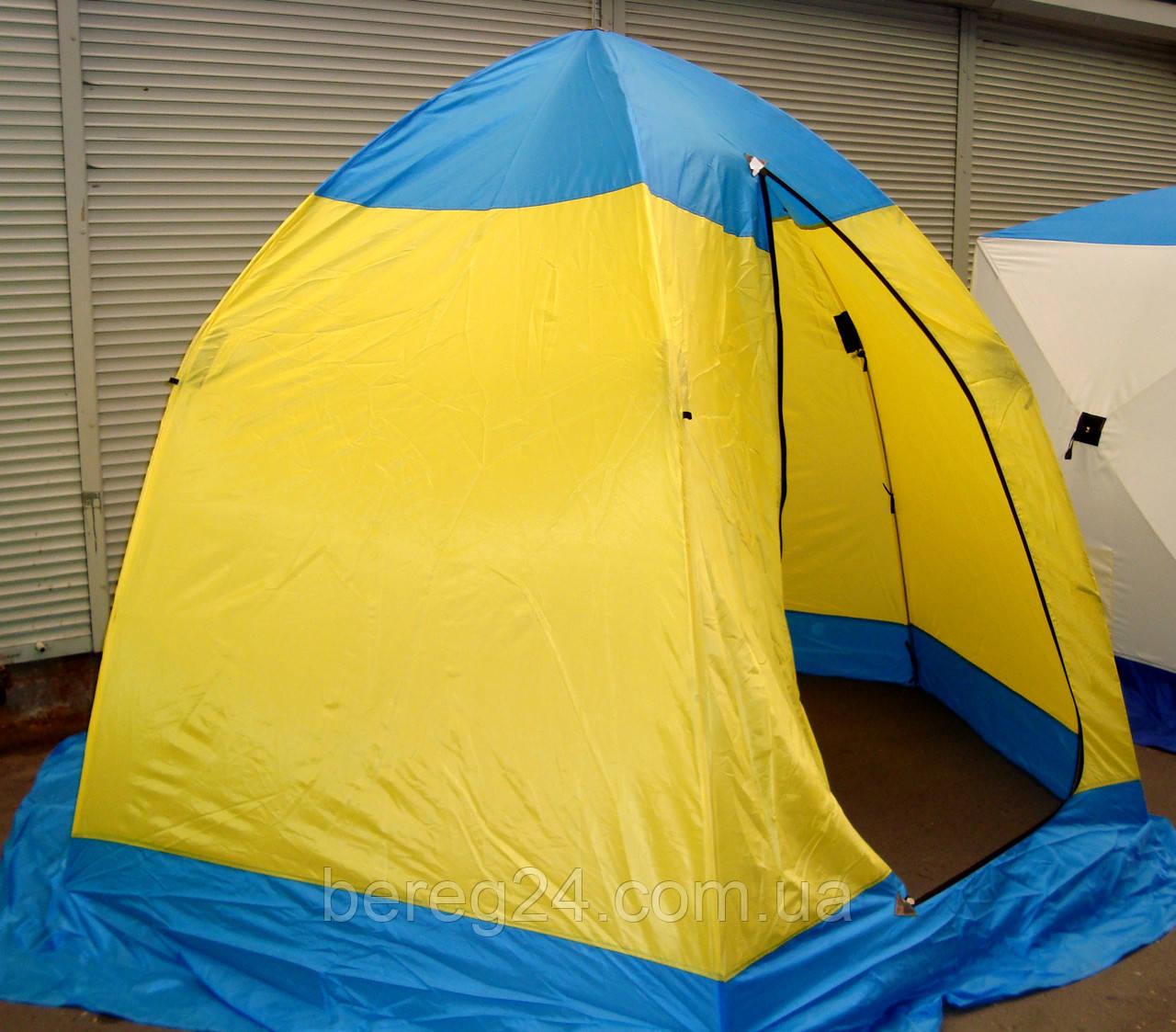 Палатка зимняя Стэк Элит Зонт 2 местная (п/автомат)