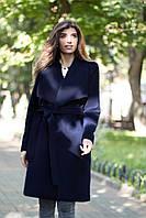 """Кашемировое женское пальто на запах """"Одри"""""""