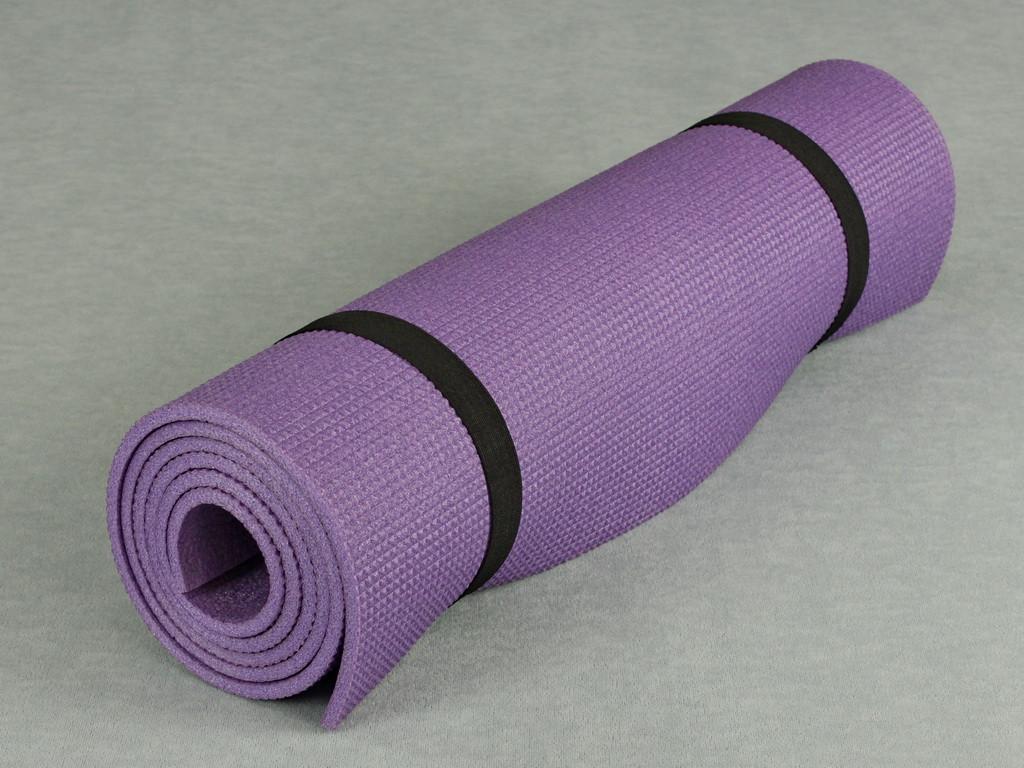 1db0c4d006c6 Коврик для йоги и гимнастики - Relax 3005 фиолетовый, размер 60 x 180 см.
