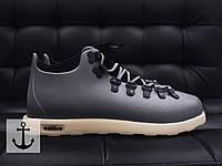 Мужские ботинки Native Fitzsimmons Серые Реплика ААА+