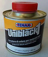 """UNIBLACK """"1""""- черный придает блеск, усиливает насыщенность цвета TENAX Италия 0.250 мл."""