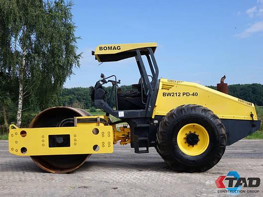 Каток грунтовой Bomag BW212-40 наработка 5551, фото 2
