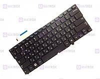 Оригинальная клавиатура для ноутбука Samsung NP900X3A series, black, ru, подсветка