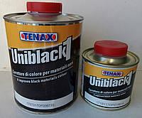 """UNIBLACK """"1""""- черный придает блеск, усиливает насыщенность цвета TENAX Италия 1литр"""
